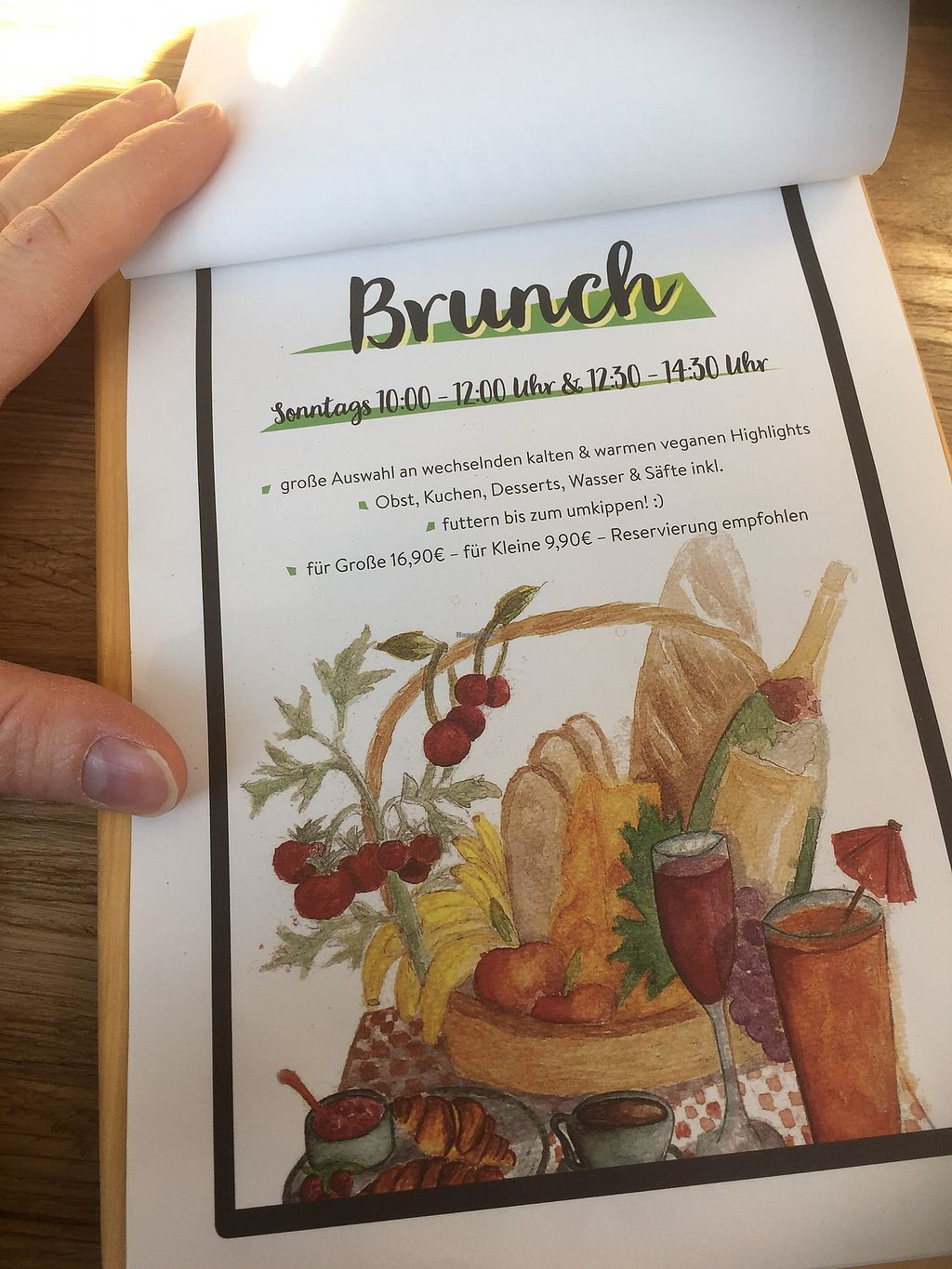 "Photo of Froindlichst - Daimlerstr  by <a href=""/members/profile/Tikiwi"">Tikiwi</a> <br/>Brunch menu <br/> March 19, 2018  - <a href='/contact/abuse/image/109963/372923'>Report</a>"