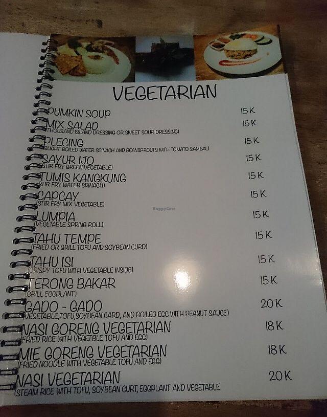 "Photo of Uyah Mice  by <a href=""/members/profile/samesamebutvegan"">samesamebutvegan</a> <br/>Vegetarian menu <br/> January 22, 2018  - <a href='/contact/abuse/image/109979/349738'>Report</a>"