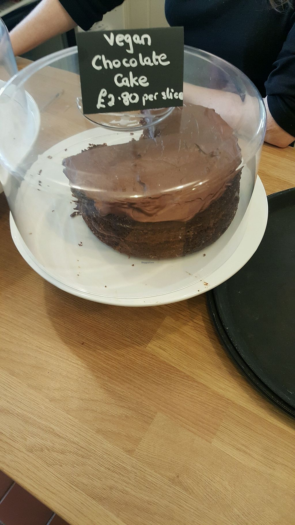 """Photo of The Green Cottage  by <a href=""""/members/profile/KarlAyers"""">KarlAyers</a> <br/>Vegan Chocolate Cake <br/> March 14, 2018  - <a href='/contact/abuse/image/110024/370564'>Report</a>"""