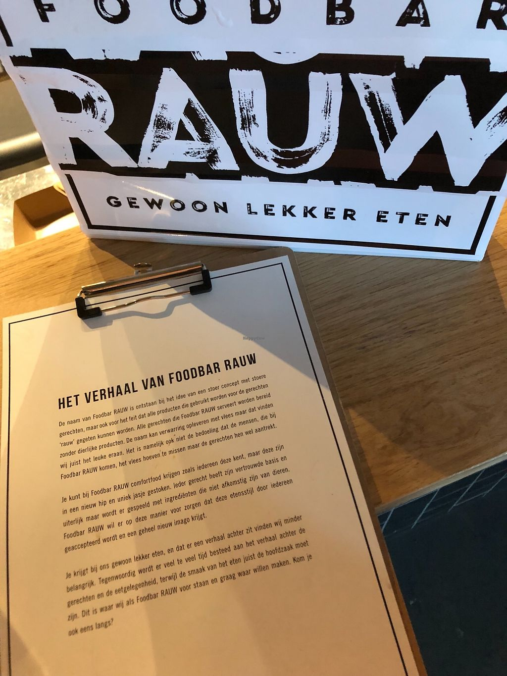 """Photo of Foodbar Rauw  by <a href=""""/members/profile/SuzanJanssen"""">SuzanJanssen</a> <br/>The story <br/> January 23, 2018  - <a href='/contact/abuse/image/110030/350193'>Report</a>"""