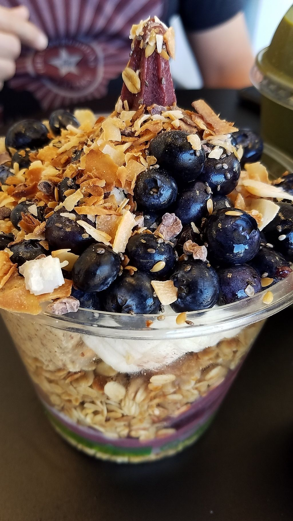 """Photo of Berry Divine Acai Bowls  by <a href=""""/members/profile/eric"""">eric</a> <br/>Acai bowl with blueberries and nut butter <br/> January 22, 2018  - <a href='/contact/abuse/image/110063/349584'>Report</a>"""