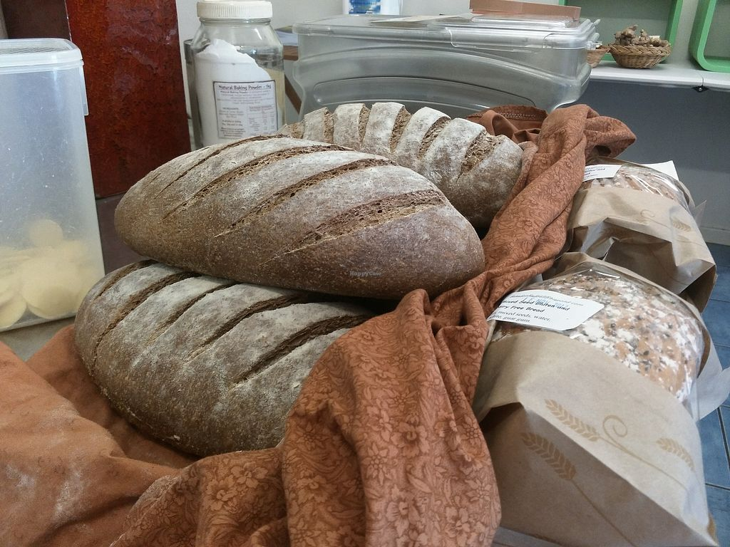 """Photo of Community Foods  by <a href=""""/members/profile/comfoods"""">comfoods</a> <br/>Fresh local sourdough at Community Foods Co-op <br/> March 27, 2018  - <a href='/contact/abuse/image/11006/376633'>Report</a>"""