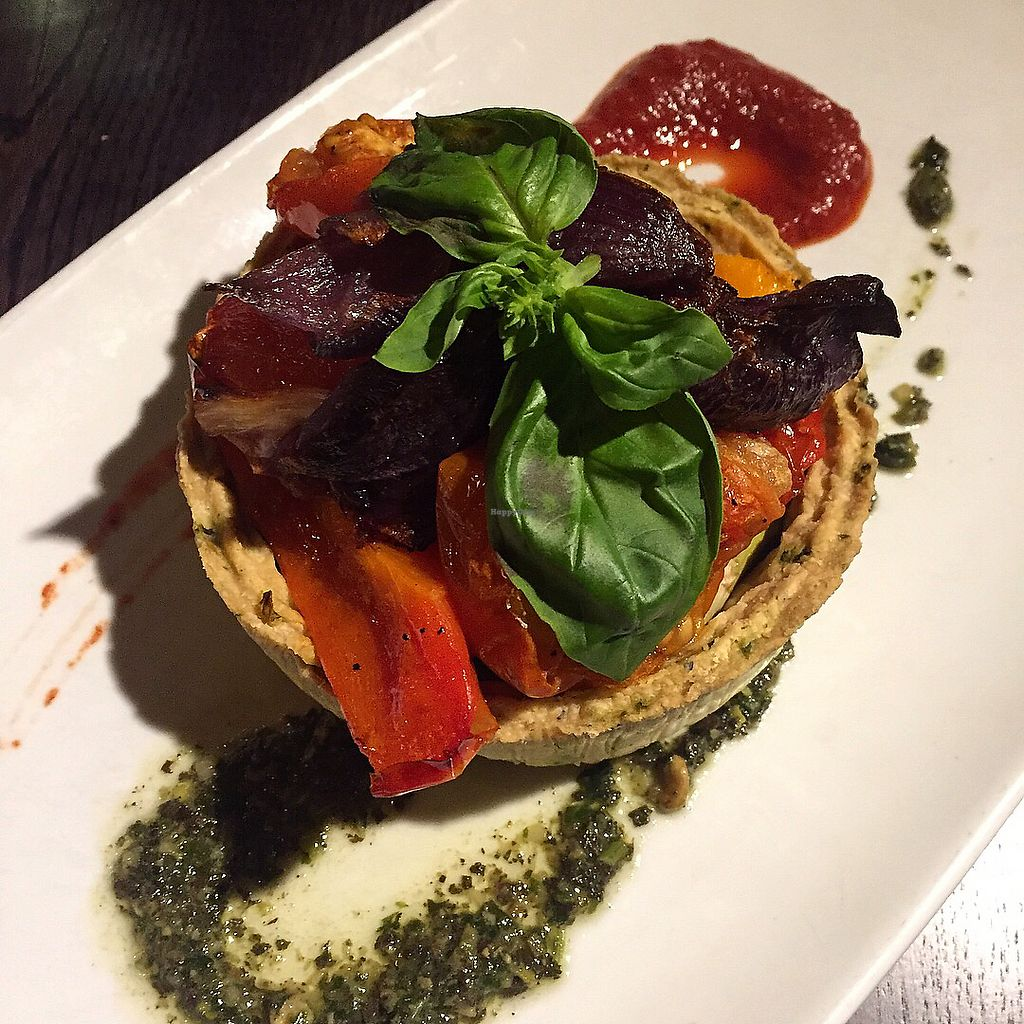 """Photo of The Ship Inn  by <a href=""""/members/profile/bakeydoesntbake"""">bakeydoesntbake</a> <br/>Vegan tart <br/> April 1, 2018  - <a href='/contact/abuse/image/110096/379553'>Report</a>"""