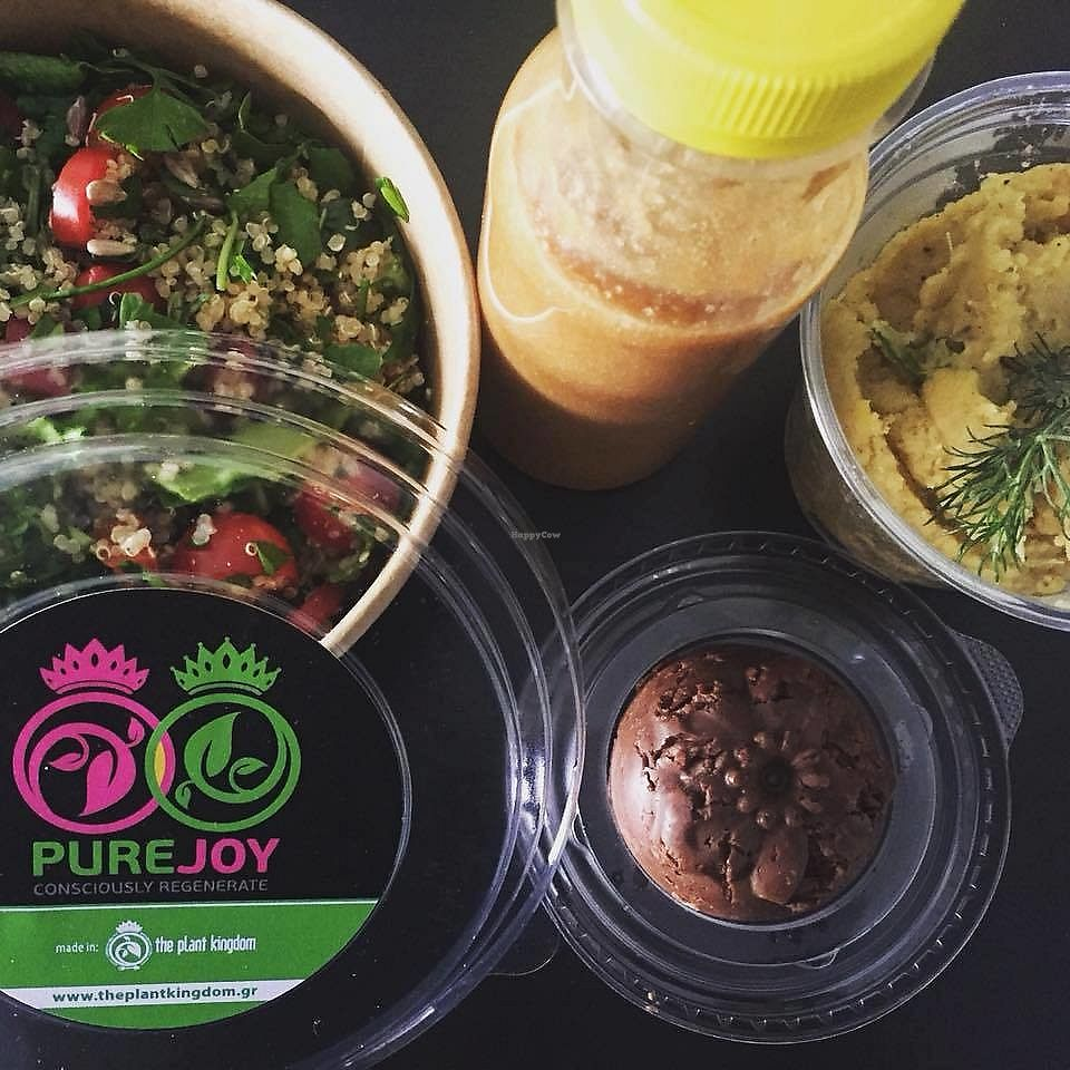 """Photo of The Plant Kingdom  by <a href=""""/members/profile/ChristinaKouli"""">ChristinaKouli</a> <br/>vegan yummy food!  <br/> April 19, 2018  - <a href='/contact/abuse/image/110103/388241'>Report</a>"""