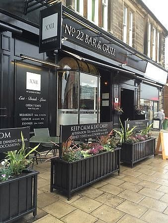 "Photo of No. 22 Bar and Grill  by <a href=""/members/profile/BeckyMitchell2101"">BeckyMitchell2101</a> <br/>Front of No.22 <br/> January 22, 2018  - <a href='/contact/abuse/image/110109/349808'>Report</a>"