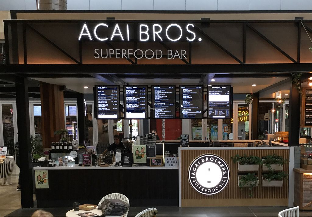 """Photo of Acai Brothers  by <a href=""""/members/profile/Mike%20Munsie"""">Mike Munsie</a> <br/>shop front <br/> March 13, 2018  - <a href='/contact/abuse/image/110142/369985'>Report</a>"""