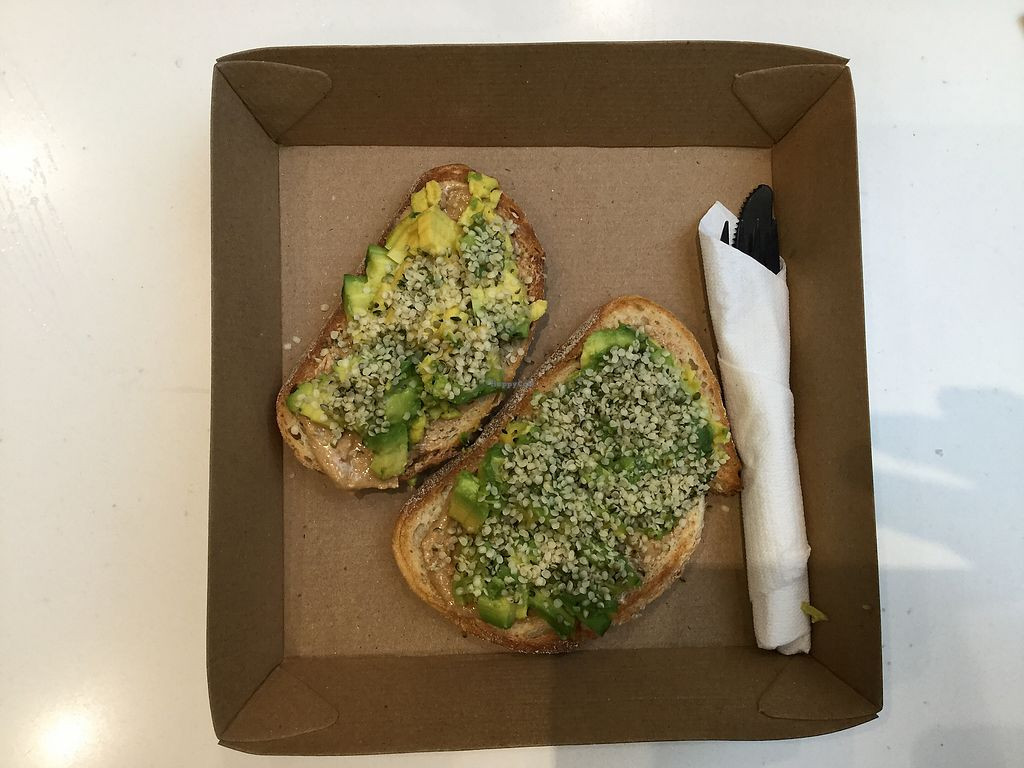 """Photo of Acai Brothers  by <a href=""""/members/profile/Mike%20Munsie"""">Mike Munsie</a> <br/>avocado on toast <br/> March 13, 2018  - <a href='/contact/abuse/image/110142/369988'>Report</a>"""