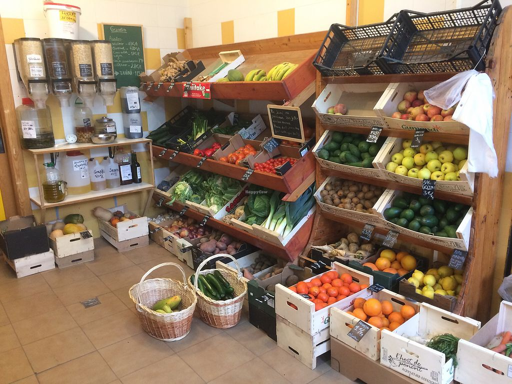 """Photo of Tienda Ecologica  by <a href=""""/members/profile/Sandy_Whitenoise"""">Sandy_Whitenoise</a> <br/>Fresh fruits and vegetables mostly regional  <br/> January 24, 2018  - <a href='/contact/abuse/image/110186/350513'>Report</a>"""