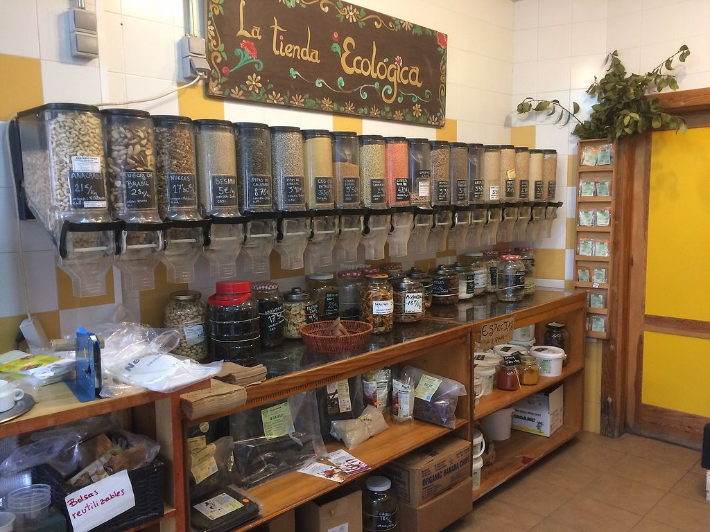 """Photo of Tienda Ecologica  by <a href=""""/members/profile/Sandy_Whitenoise"""">Sandy_Whitenoise</a> <br/>Bring your own packaging  <br/> January 24, 2018  - <a href='/contact/abuse/image/110186/350514'>Report</a>"""