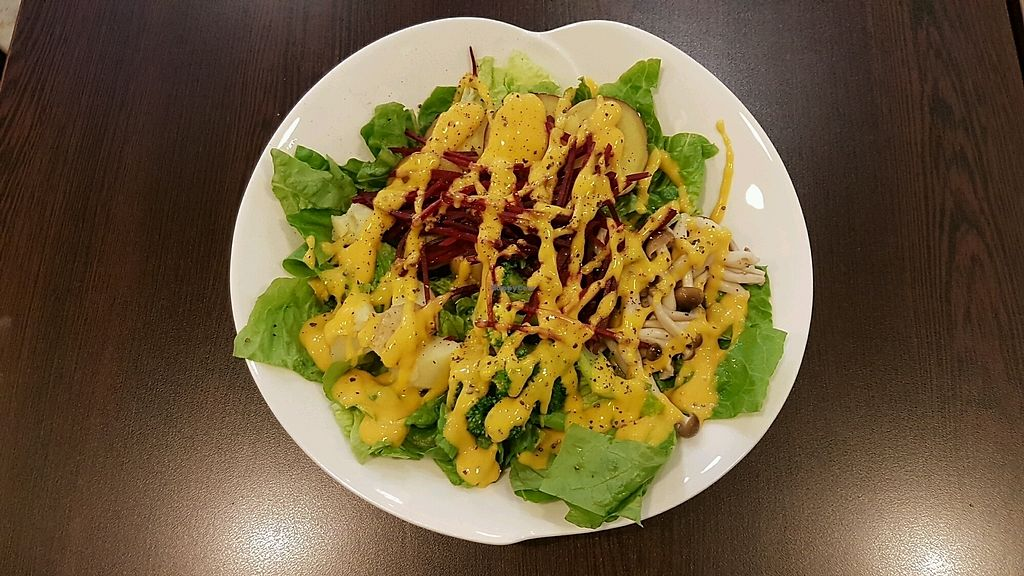 "Photo of The SaladBox - Bugis MRT   by <a href=""/members/profile/matostars"">matostars</a> <br/>DIY salad with Mango Mustard <br/> March 17, 2018  - <a href='/contact/abuse/image/110210/371799'>Report</a>"