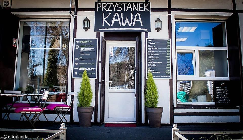 """Photo of Przystanek Kawa  by <a href=""""/members/profile/magdusia"""">magdusia</a> <br/>front of the cafe  <br/> January 24, 2018  - <a href='/contact/abuse/image/110258/350416'>Report</a>"""