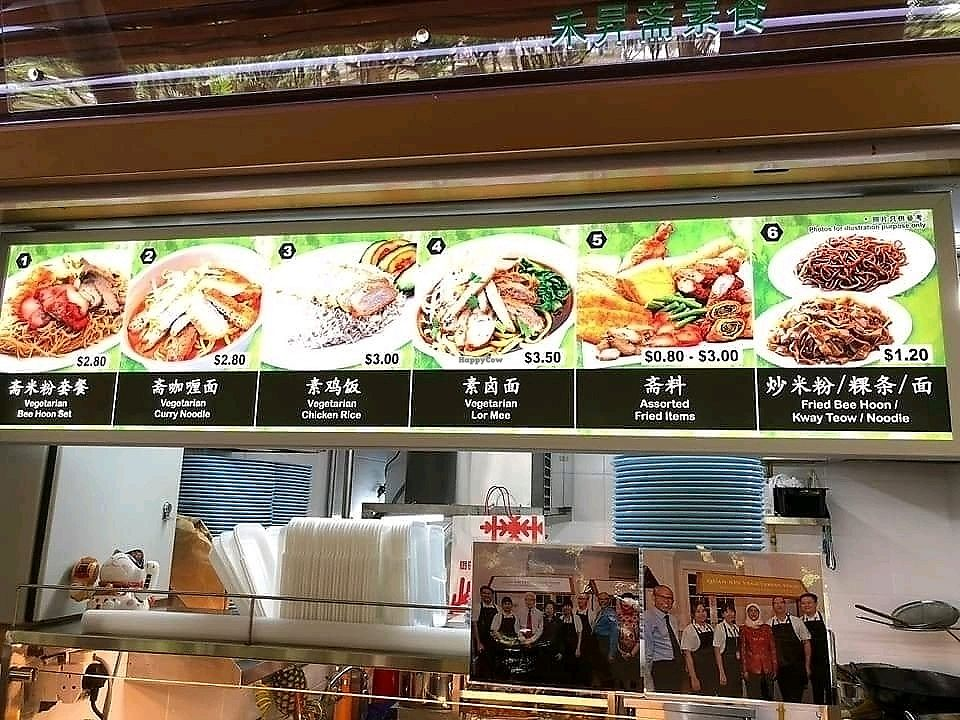"""Photo of Wholesome Vegetarian Stall  by <a href=""""/members/profile/JimmySeah"""">JimmySeah</a> <br/>menu items <br/> January 24, 2018  - <a href='/contact/abuse/image/110259/350518'>Report</a>"""