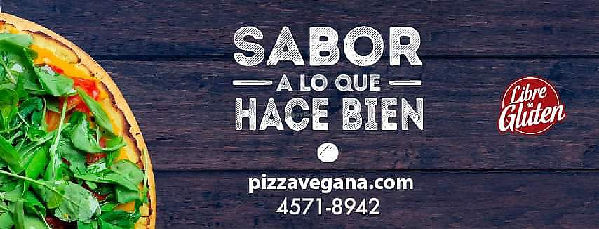 "Photo of Pizza Vegana - Devoto  by <a href=""/members/profile/jotmaster"">jotmaster</a> <br/>FB Logo <br/> January 25, 2018  - <a href='/contact/abuse/image/110294/350661'>Report</a>"
