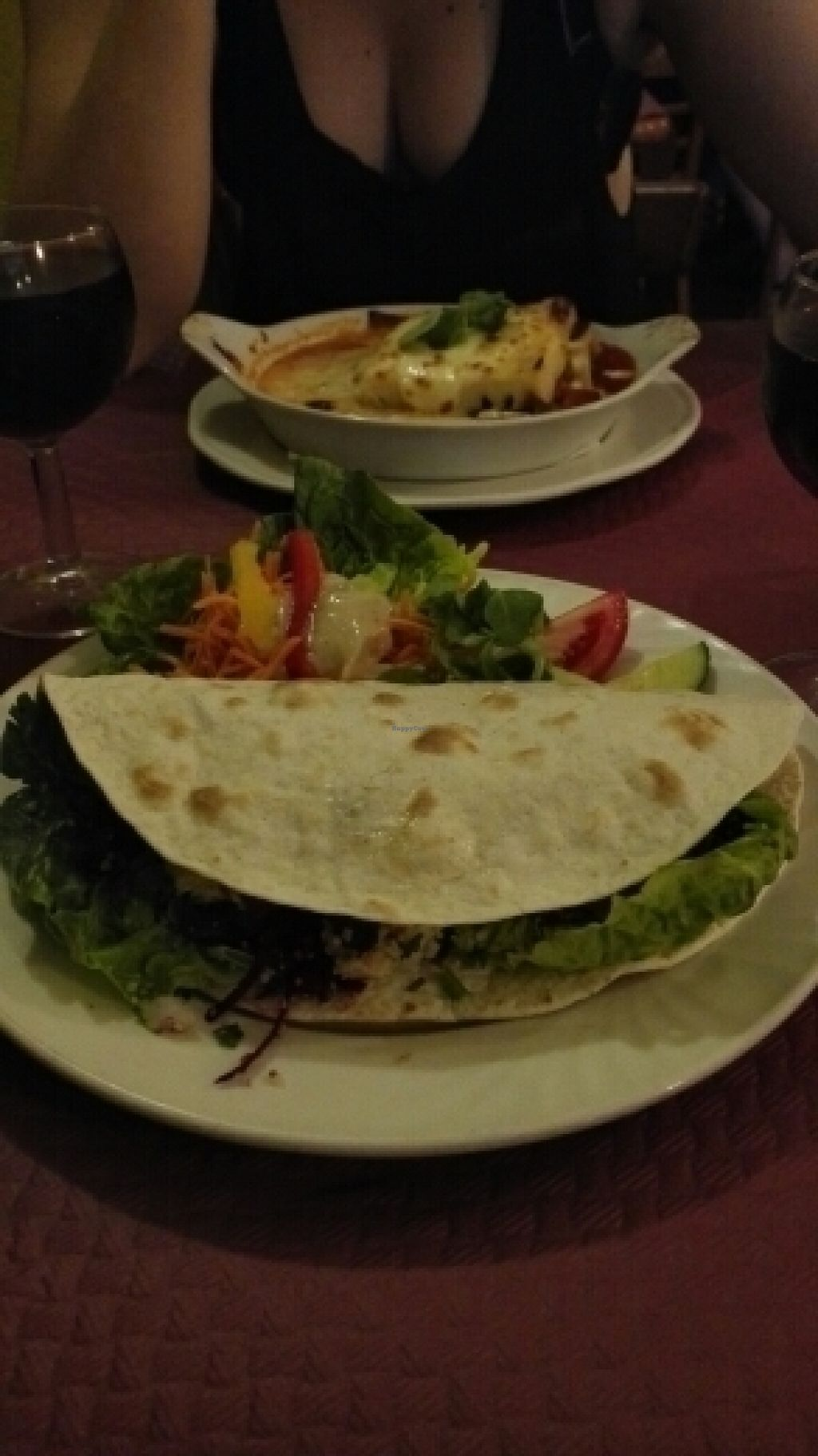"Photo of Beet Vegetariano  by <a href=""/members/profile/VeganVenturer"">VeganVenturer</a> <br/>Burrito and lasagne <br/> July 15, 2016  - <a href='/contact/abuse/image/1102/160036'>Report</a>"