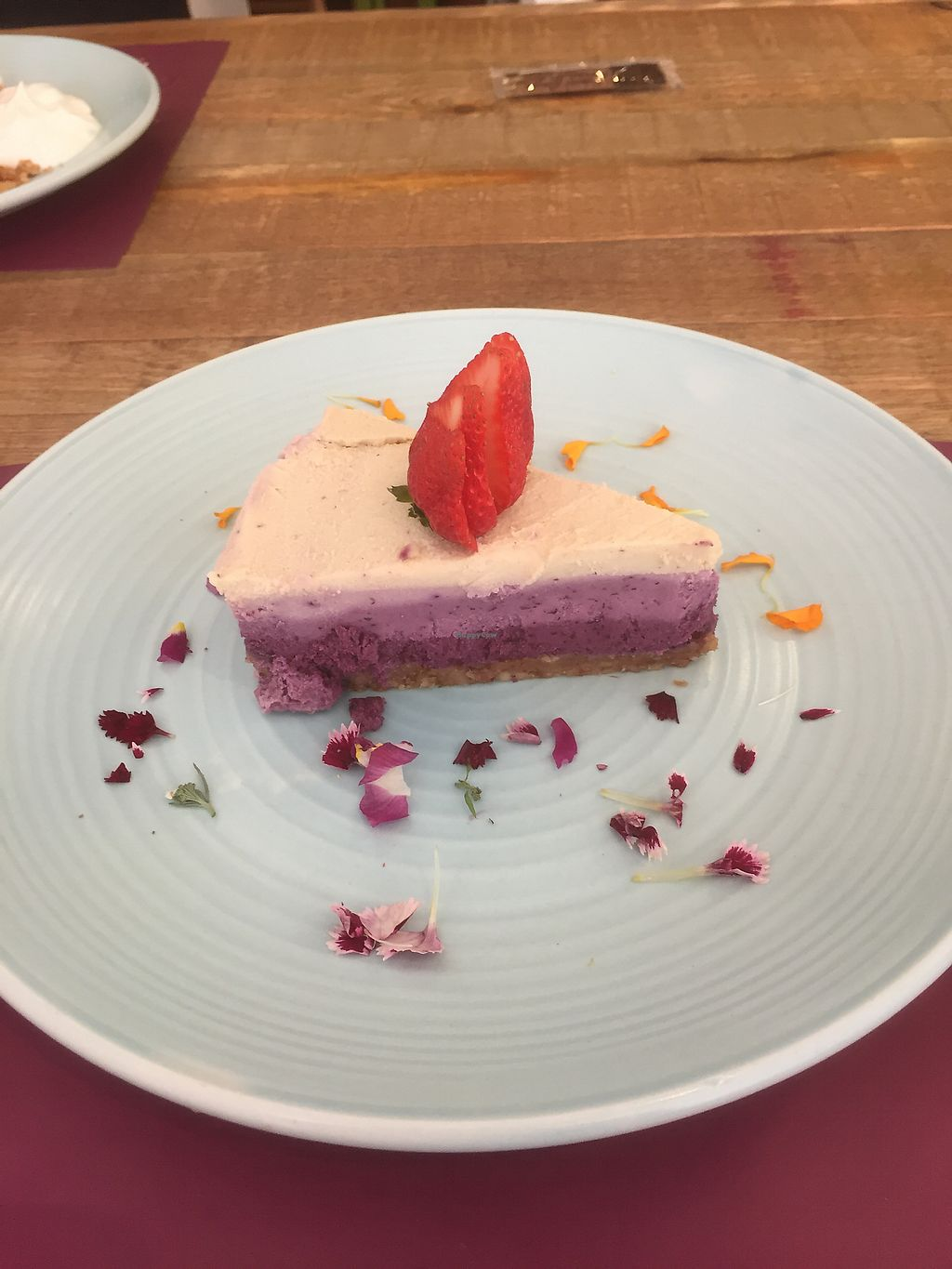"Photo of Beet Vegetariano  by <a href=""/members/profile/NuttyNan"">NuttyNan</a> <br/>Todays dessert <br/> September 20, 2017  - <a href='/contact/abuse/image/1102/306342'>Report</a>"