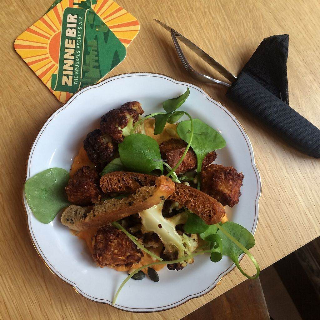 """Photo of Contrebande Bar  by <a href=""""/members/profile/NinaBeau"""">NinaBeau</a> <br/>Vegan Plate  <br/> January 29, 2018  - <a href='/contact/abuse/image/110305/352492'>Report</a>"""