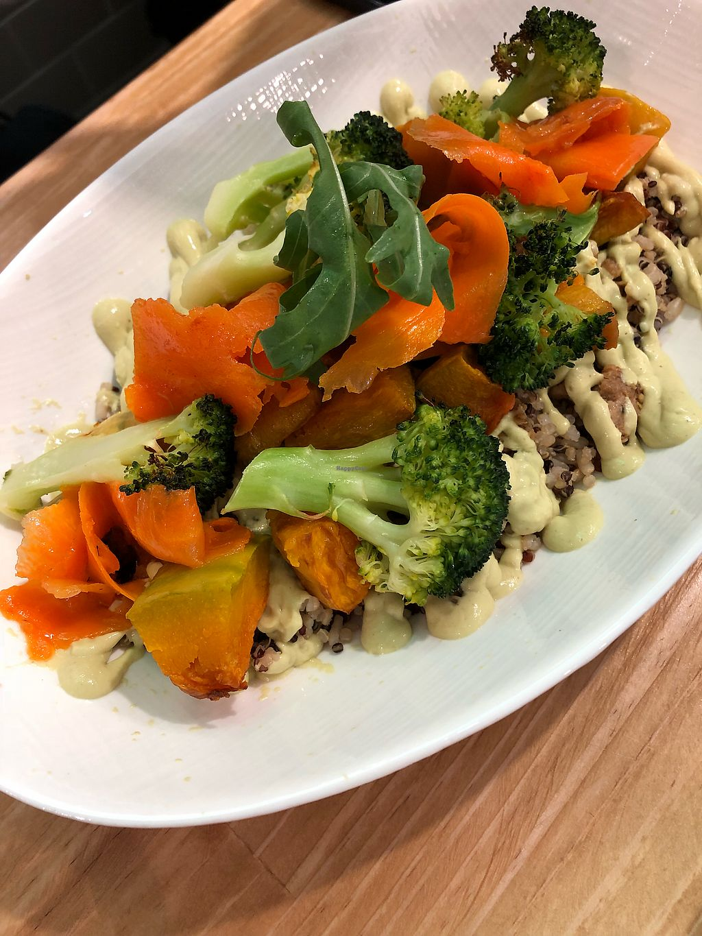 """Photo of Ooh Cha Cha Tech  by <a href=""""/members/profile/HaileyPoLa"""">HaileyPoLa</a> <br/>Quinoa salad  <br/> March 18, 2018  - <a href='/contact/abuse/image/110310/372287'>Report</a>"""