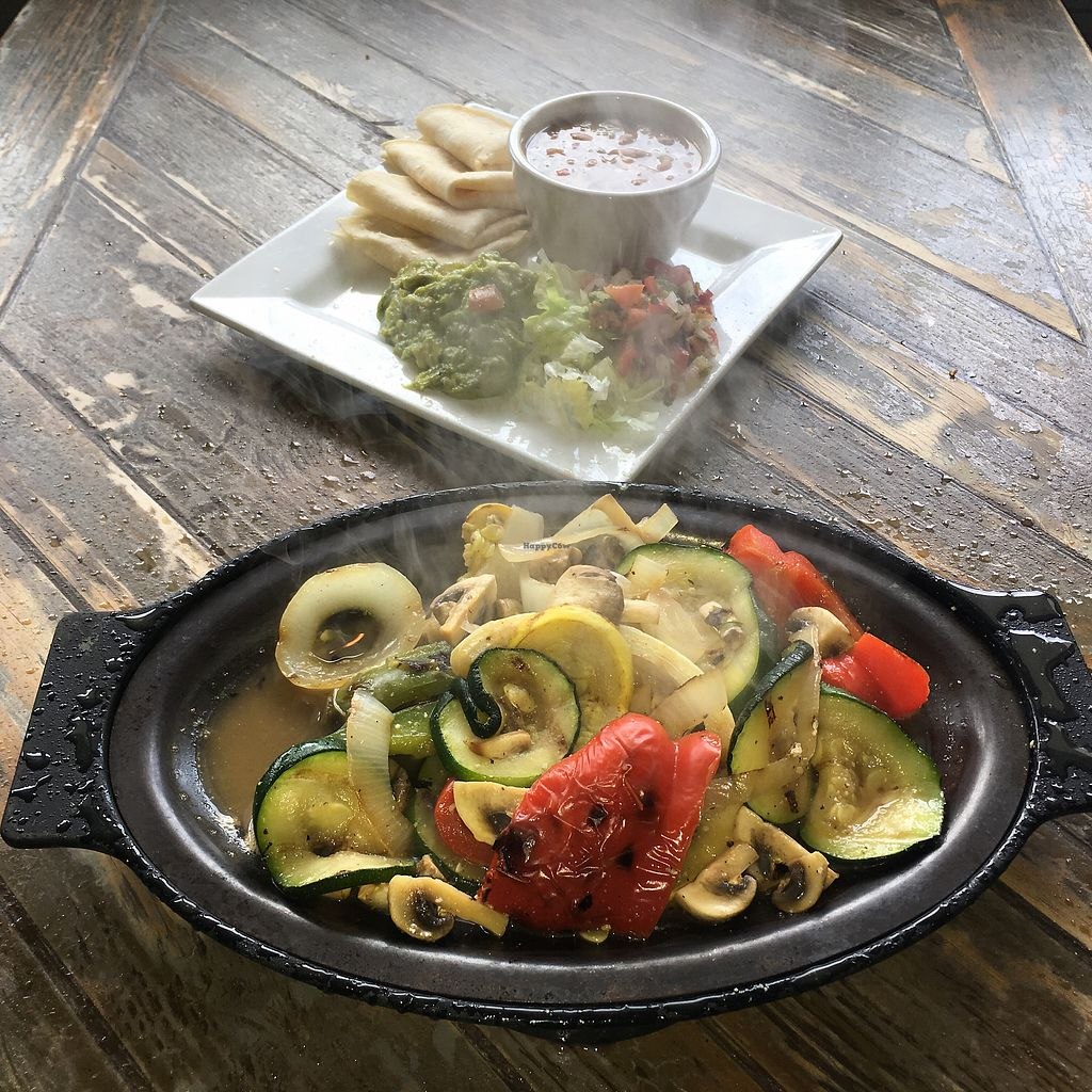 """Photo of Two Drunken Goats  by <a href=""""/members/profile/KellyMulligan"""">KellyMulligan</a> <br/>Sizzling Vegetable Fajitas <br/> January 30, 2018  - <a href='/contact/abuse/image/110318/352843'>Report</a>"""