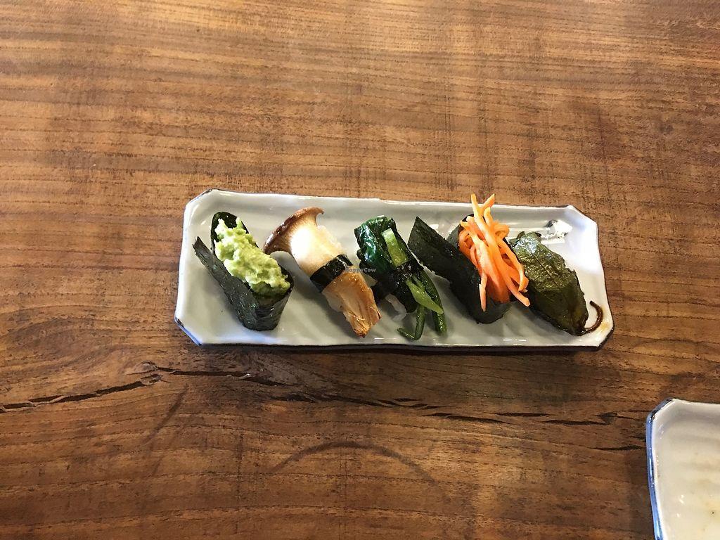 "Photo of Itadakizen Kyoto  by <a href=""/members/profile/JohnChiarini"">JohnChiarini</a> <br/>Vegan Sushi <br/> March 31, 2018  - <a href='/contact/abuse/image/110323/378716'>Report</a>"