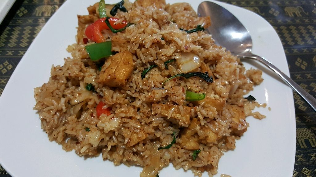 "Photo of Chao Praya  by <a href=""/members/profile/EatPlantsDaily"">EatPlantsDaily</a> <br/>Spicy rice and tofu dish <br/> February 1, 2018  - <a href='/contact/abuse/image/110364/353745'>Report</a>"