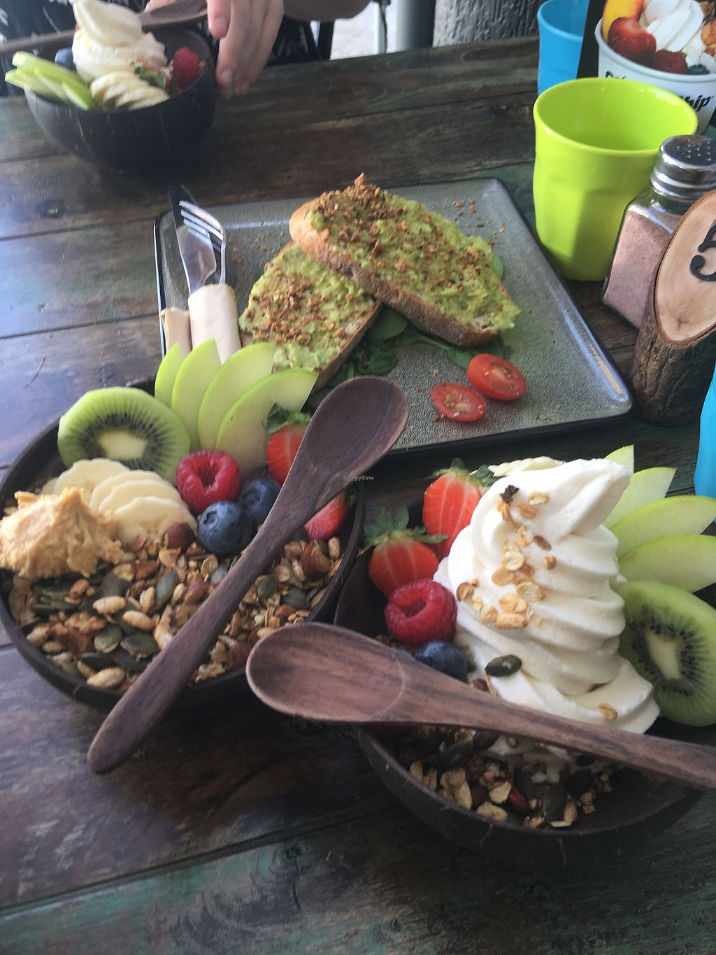 """Photo of Clean Eats and Healthy Treats  by <a href=""""/members/profile/EmmaDimento"""">EmmaDimento</a> <br/>Açai bowl, coco whip and avo toast <br/> February 17, 2018  - <a href='/contact/abuse/image/110388/360178'>Report</a>"""