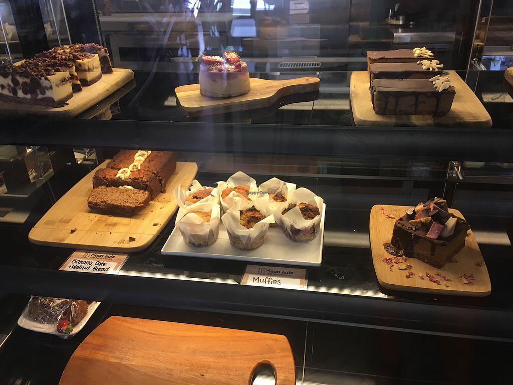 """Photo of Clean Eats and Healthy Treats  by <a href=""""/members/profile/EmmaDimento"""">EmmaDimento</a> <br/>GF, DF, VE Cake Cabnet <br/> February 17, 2018  - <a href='/contact/abuse/image/110388/360179'>Report</a>"""
