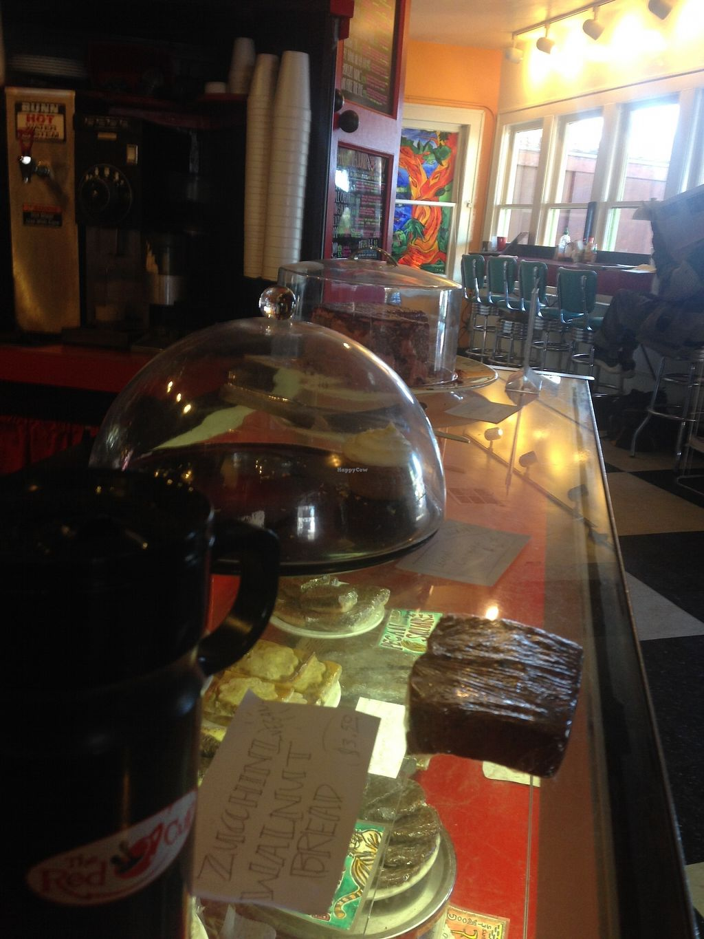 """Photo of Red Cup Coffee House  by <a href=""""/members/profile/MollyJD17"""">MollyJD17</a> <br/>Front counter with baked goods of the day on display <br/> December 29, 2017  - <a href='/contact/abuse/image/11038/340293'>Report</a>"""