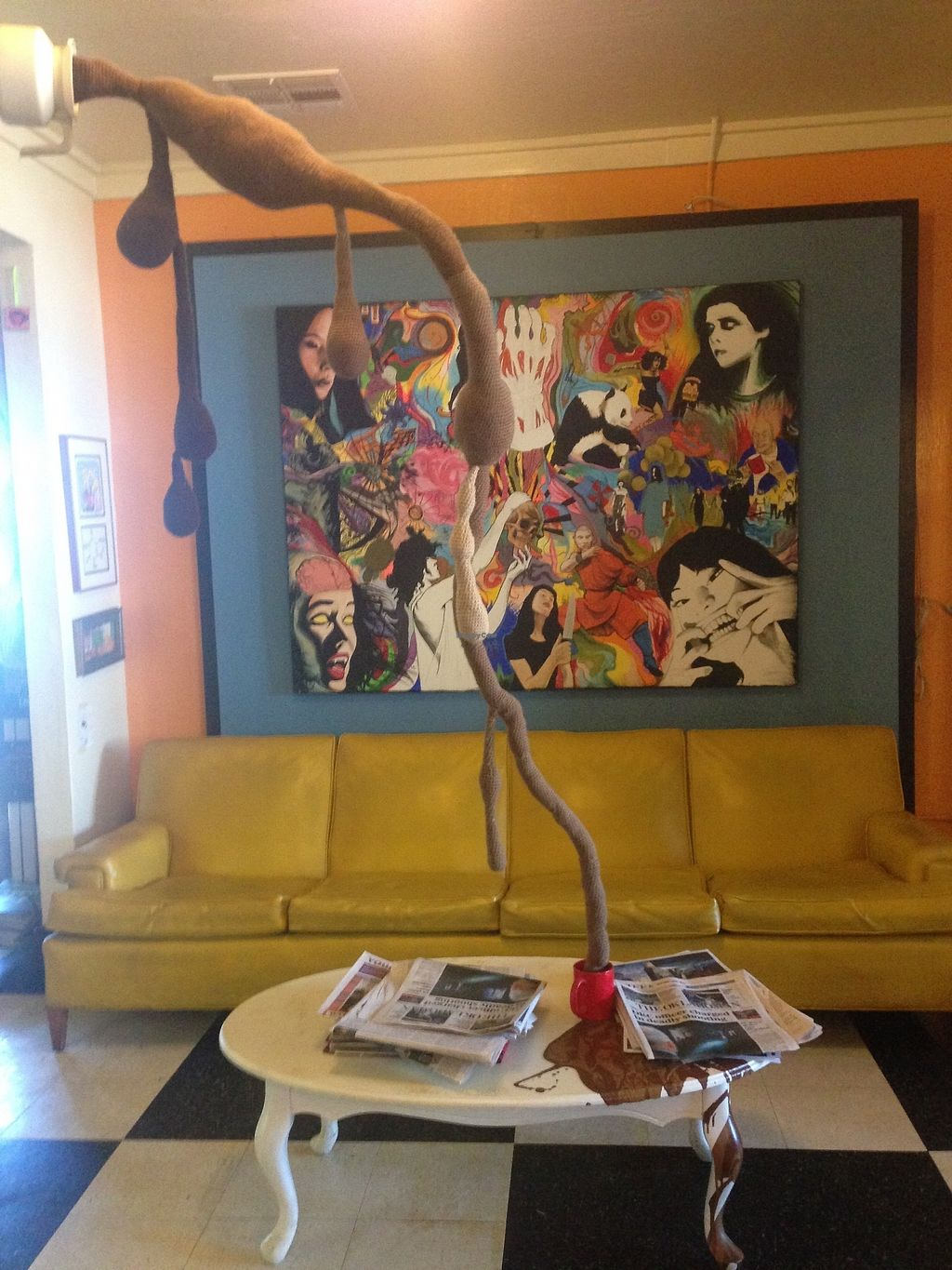 """Photo of Red Cup Coffee House  by <a href=""""/members/profile/MollyJD17"""">MollyJD17</a> <br/>One of the many eclectic seating options <br/> December 29, 2017  - <a href='/contact/abuse/image/11038/340294'>Report</a>"""