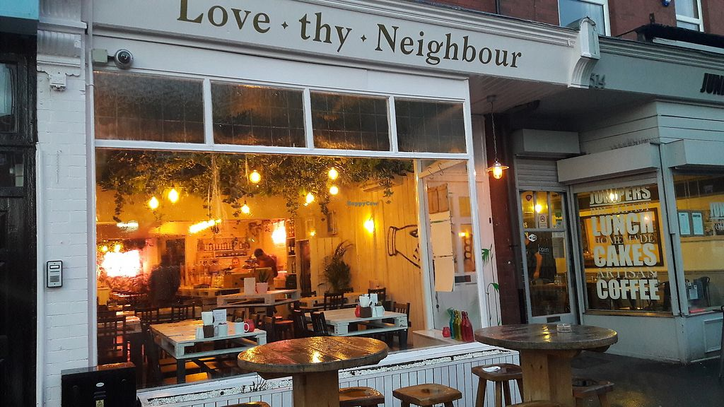 """Photo of Love Thy Neighbour  by <a href=""""/members/profile/Veganolive1"""">Veganolive1</a> <br/>Love Thy Neighbour <br/> January 27, 2018  - <a href='/contact/abuse/image/110433/351408'>Report</a>"""