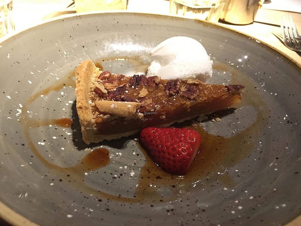 "Photo of The Flying Horse  by <a href=""/members/profile/LucySaunders"">LucySaunders</a> <br/>Pecan and treacle tart  <br/> March 10, 2018  - <a href='/contact/abuse/image/110474/369078'>Report</a>"
