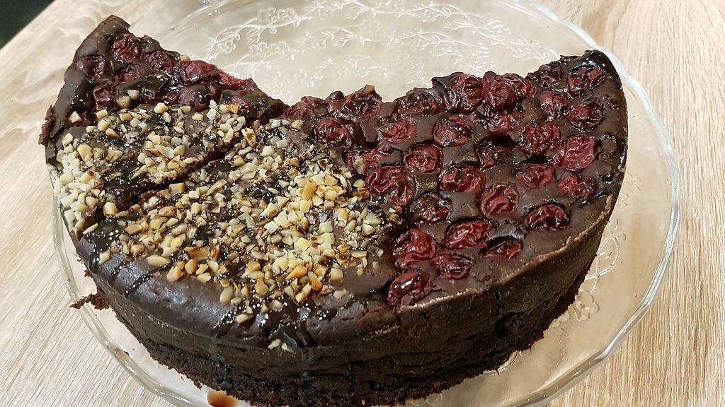 """Photo of Elilor Cafe  by <a href=""""/members/profile/MichaelElMoursi"""">MichaelElMoursi</a> <br/>vegan Chocalate Brownies  <br/> February 7, 2018  - <a href='/contact/abuse/image/110489/356036'>Report</a>"""