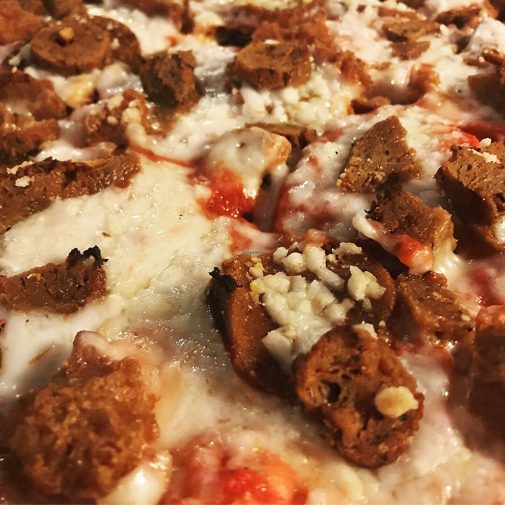 """Photo of Parkway Pizza - NE  by <a href=""""/members/profile/KarenTatur"""">KarenTatur</a> <br/>Vegavore <br/> March 12, 2018  - <a href='/contact/abuse/image/110507/369729'>Report</a>"""