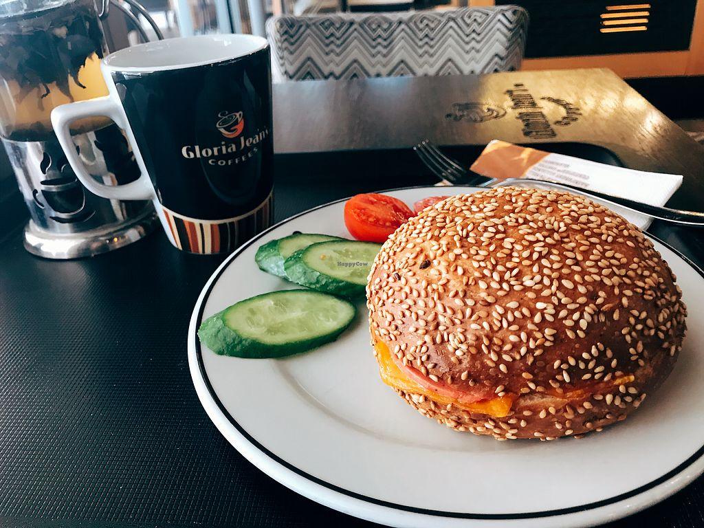 "Photo of Gloria Jean's Coffees - Şirinyalı   by <a href=""/members/profile/veganoteacher"">veganoteacher</a> <br/>Vegan Sandwich  <br/> January 29, 2018  - <a href='/contact/abuse/image/110566/352331'>Report</a>"