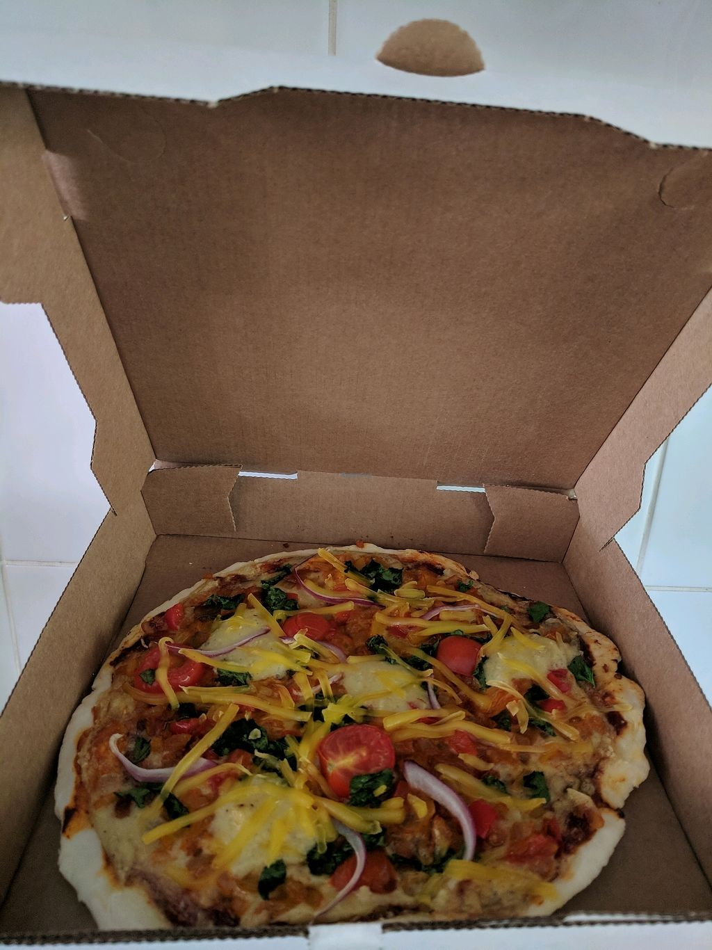 "Photo of Coffs Coast Vegan Takeaway  by <a href=""/members/profile/LigayaBarwise"">LigayaBarwise</a> <br/>vegan supreme <br/> January 31, 2018  - <a href='/contact/abuse/image/110568/353110'>Report</a>"