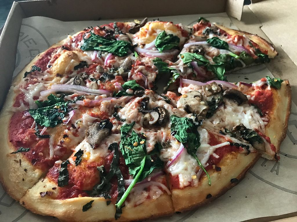 """Photo of Pieology  by <a href=""""/members/profile/RMihalcik"""">RMihalcik</a> <br/>Yum!  <br/> April 13, 2018  - <a href='/contact/abuse/image/110569/385349'>Report</a>"""