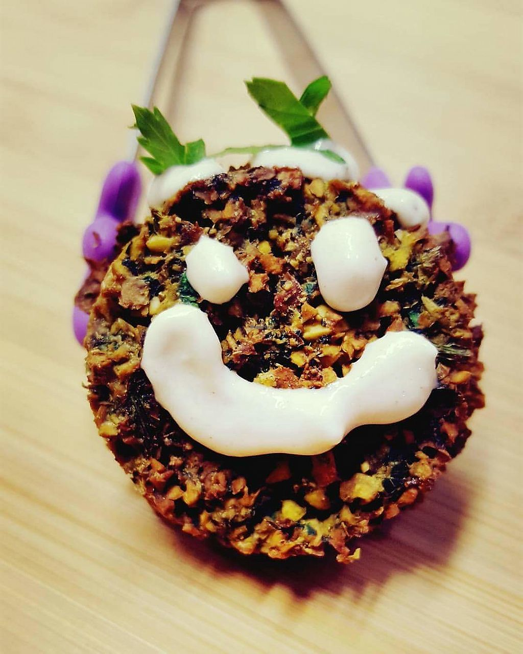"""Photo of Chickpeas Creations  by <a href=""""/members/profile/ChickpeasCreations"""">ChickpeasCreations</a> <br/>Happy Falafel <br/> January 28, 2018  - <a href='/contact/abuse/image/110574/351756'>Report</a>"""
