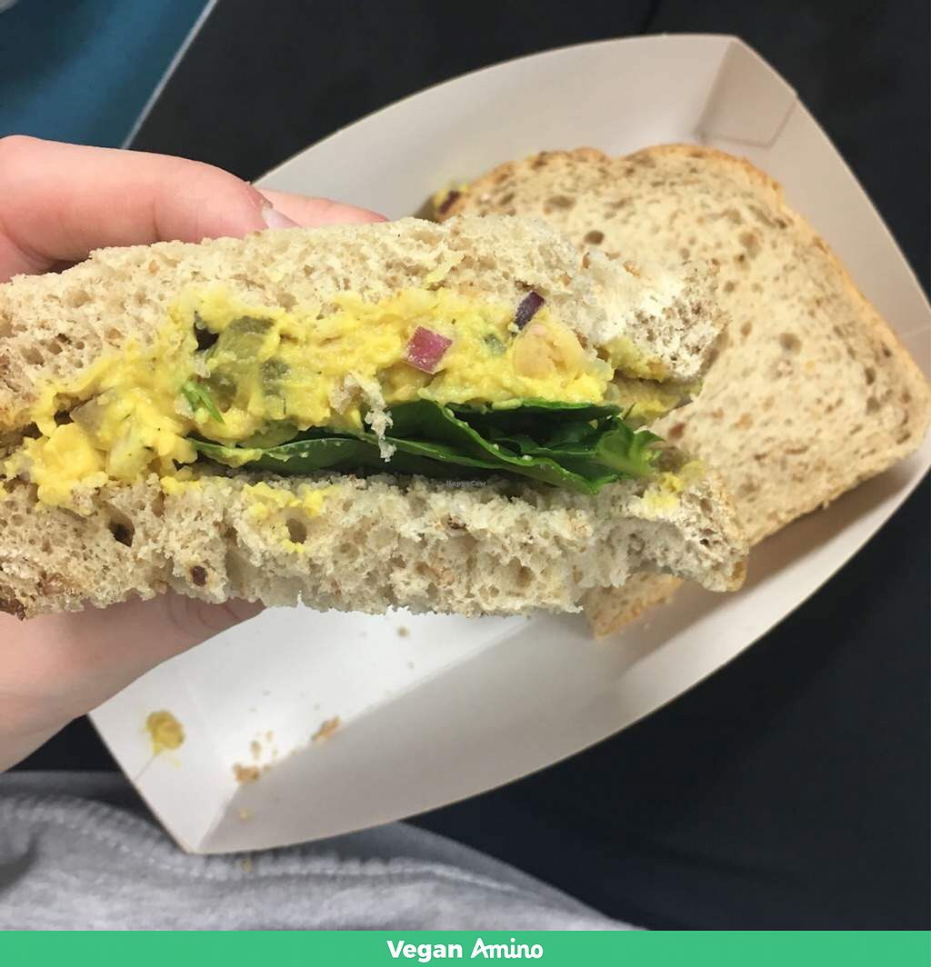 "Photo of CLOSED: V Kitchen - Food Stall  by <a href=""/members/profile/romyhoskin"">romyhoskin</a> <br/>Smashed chickpea sandwich  <br/> February 7, 2018  - <a href='/contact/abuse/image/110575/355987'>Report</a>"