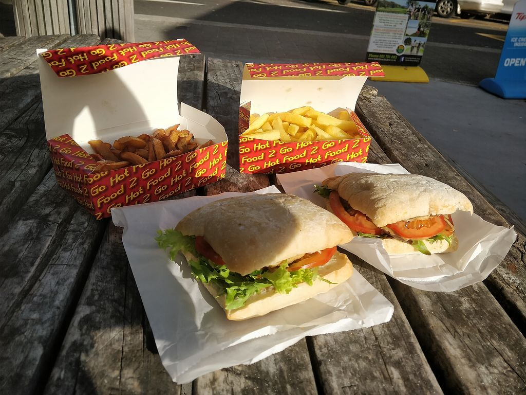 """Photo of Hungri Hunter  by <a href=""""/members/profile/dunhirwen"""">dunhirwen</a> <br/>Burgers, potato chips and kumara chips <br/> January 28, 2018  - <a href='/contact/abuse/image/110598/351838'>Report</a>"""