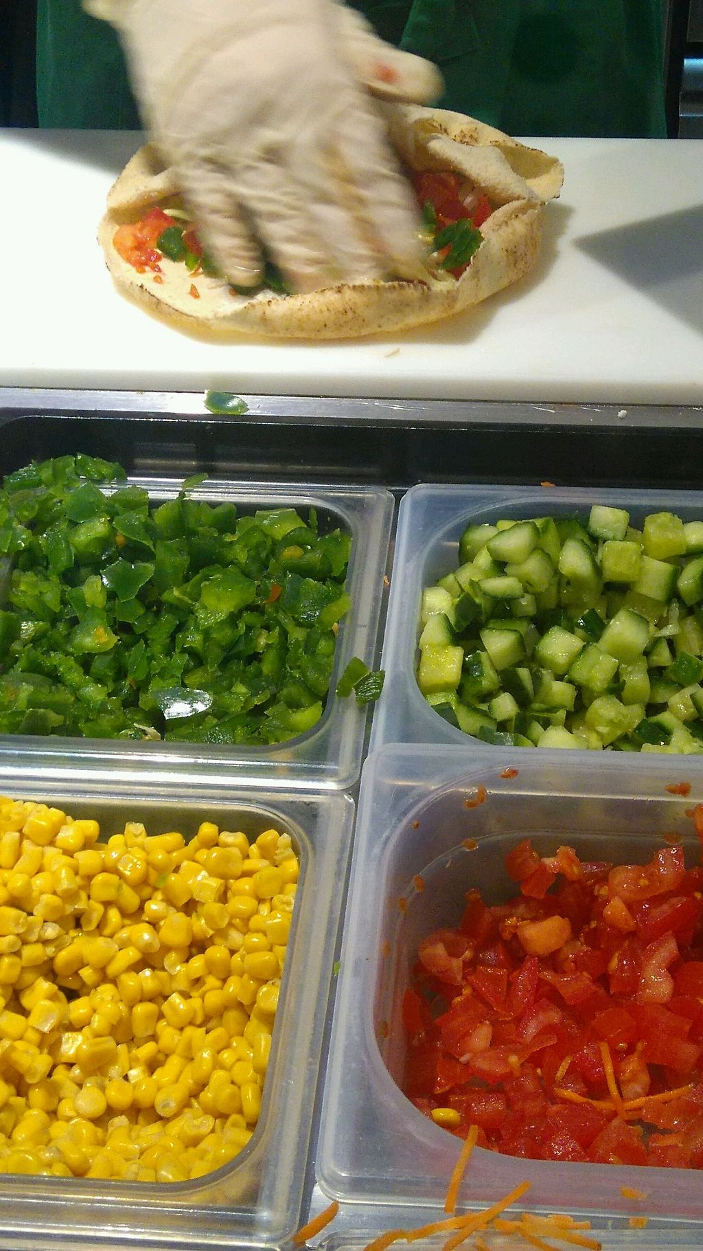 "Photo of Pita Pit  by <a href=""/members/profile/MlleCarine"">MlleCarine</a> <br/>veggie bonanza <br/> February 8, 2018  - <a href='/contact/abuse/image/110599/356461'>Report</a>"