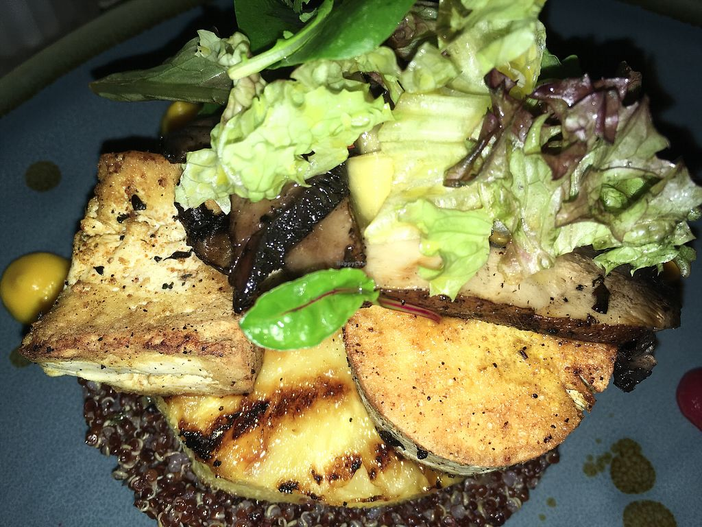 """Photo of Ike's Bistro  by <a href=""""/members/profile/mike1366"""">mike1366</a> <br/>Tofu Steak <br/> February 10, 2018  - <a href='/contact/abuse/image/110625/357527'>Report</a>"""