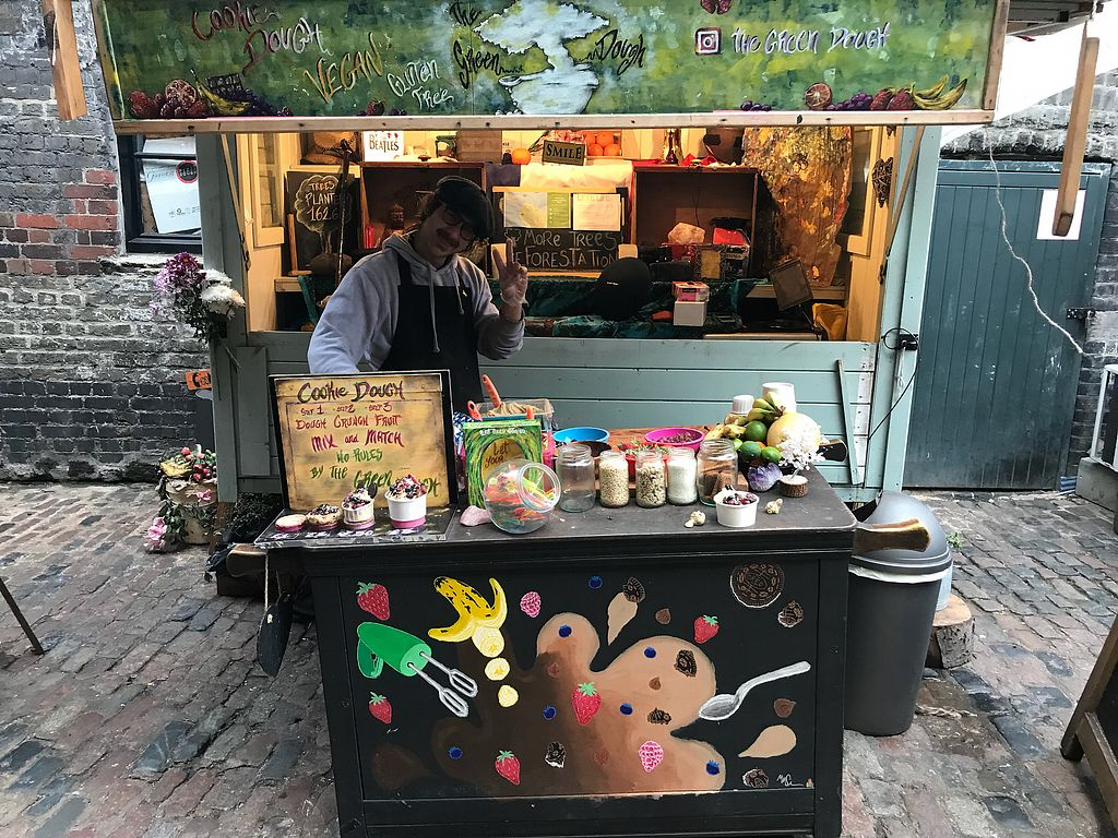 """Photo of The Green Dough - Market Stall  by <a href=""""/members/profile/VickiWanSlattery"""">VickiWanSlattery</a> <br/>Green dough stall  <br/> January 28, 2018  - <a href='/contact/abuse/image/110635/352072'>Report</a>"""