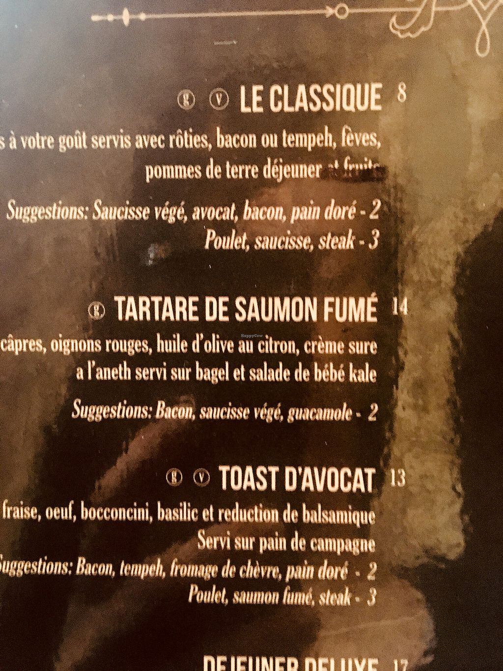 """Photo of L'Gros Luxe  by <a href=""""/members/profile/AliceBernier"""">AliceBernier</a> <br/>menu page 1 <br/> January 28, 2018  - <a href='/contact/abuse/image/110637/352081'>Report</a>"""