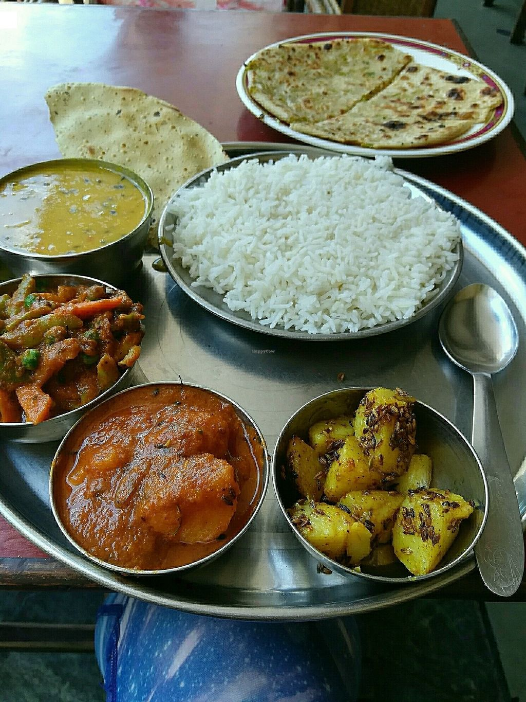 """Photo of Punjabi Restaurant  by <a href=""""/members/profile/LauraJean"""">LauraJean</a> <br/>vegan Thai <br/> July 27, 2017  - <a href='/contact/abuse/image/11063/285463'>Report</a>"""