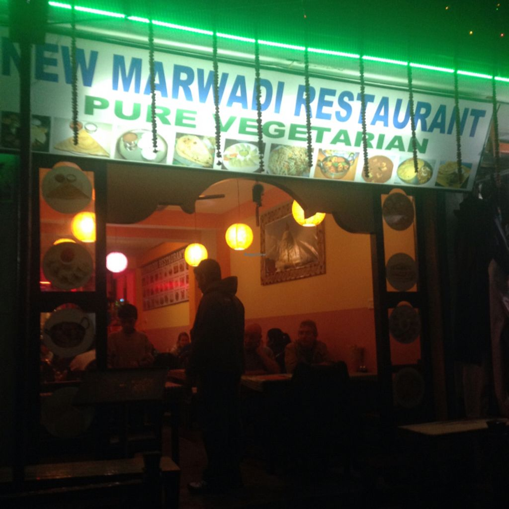 "Photo of New Marwadi Restaurant  by <a href=""/members/profile/MangoTango"">MangoTango</a> <br/>Front view of Marwadi Restaurant <br/> March 28, 2016  - <a href='/contact/abuse/image/11064/141570'>Report</a>"