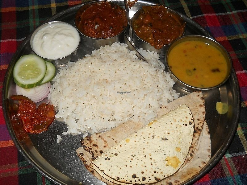 """Photo of New Marwadi Restaurant  by <a href=""""/members/profile/Masala-Dosa"""">Masala-Dosa</a> <br/>Indian Thali <br/> January 6, 2018  - <a href='/contact/abuse/image/11064/343548'>Report</a>"""