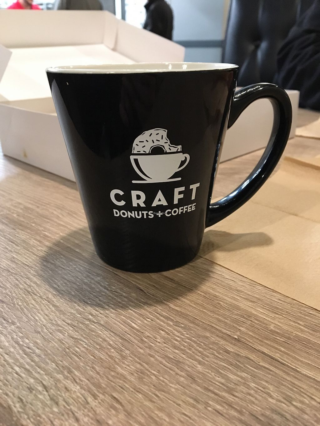 "Photo of Craft Donuts + Coffee  by <a href=""/members/profile/Mpveg"">Mpveg</a> <br/>Latte <br/> January 29, 2018  - <a href='/contact/abuse/image/110666/352294'>Report</a>"