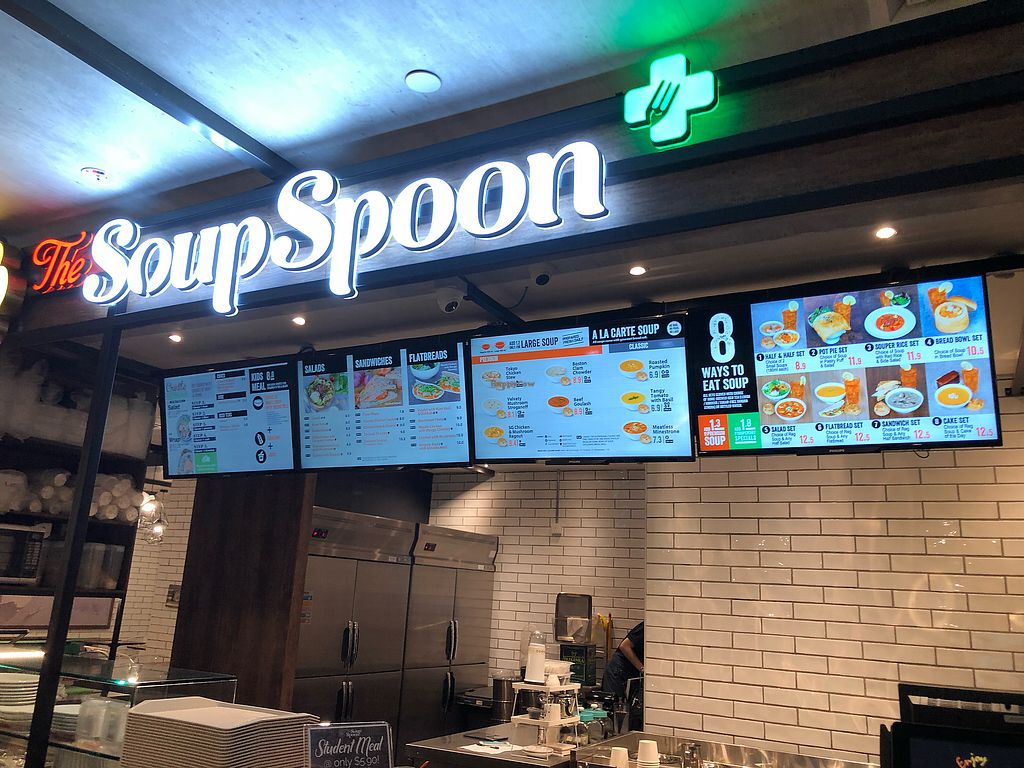 "Photo of The Soup Spoon - Khoo Teck Puat Hospital  by <a href=""/members/profile/CherylQuincy"">CherylQuincy</a> <br/>Shop front <br/> January 30, 2018  - <a href='/contact/abuse/image/110696/352566'>Report</a>"