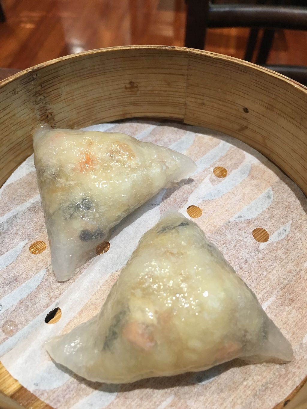 "Photo of LockCha Tea House  by <a href=""/members/profile/Veg4Jay"">Veg4Jay</a> <br/>Steamed Mushrooms & Celery Dumpling <br/> April 11, 2018  - <a href='/contact/abuse/image/11069/383714'>Report</a>"