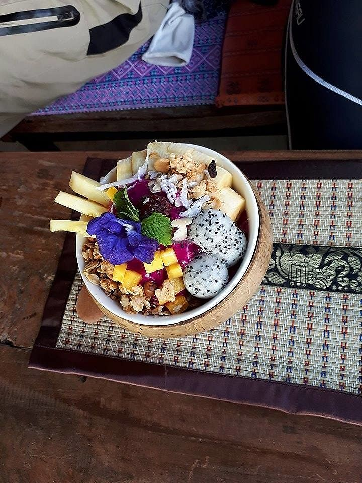 """Photo of Full Moon Wellness Cafe  by <a href=""""/members/profile/FULLMOONWELLNESS"""">FULLMOONWELLNESS</a> <br/>Dragon Fruit Wellness Bowl  <br/> January 30, 2018  - <a href='/contact/abuse/image/110705/352614'>Report</a>"""