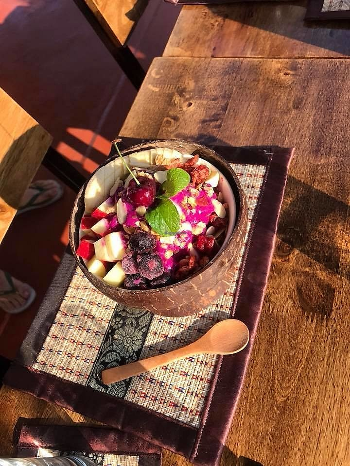 """Photo of Full Moon Wellness Cafe  by <a href=""""/members/profile/FULLMOONWELLNESS"""">FULLMOONWELLNESS</a> <br/>SUNRISE WAKE UP ! Wellness Bowl - SIMPLE - NATURAL - GOODNESS <br/> January 30, 2018  - <a href='/contact/abuse/image/110705/352620'>Report</a>"""